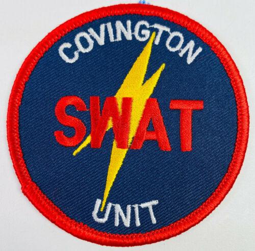 "Covington SWAT Unit Police Kenton County Kentucky KY Tactical Patch (A1) 3"""