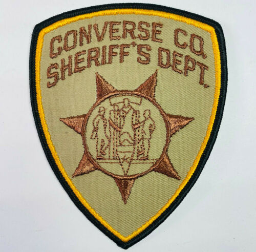 Converse County Sheriff Wyoming WY Patch