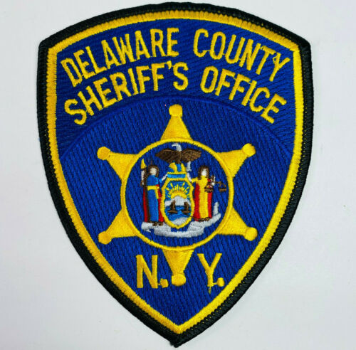 Delaware County Sheriff New York NY Patch (A4)