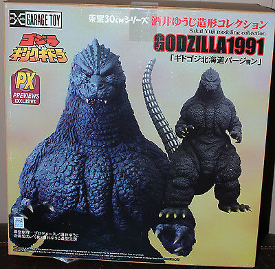 1991 Godzilla Sakai Collection 30cm Vinyl Figure  X-Plus toho Previews exlusive