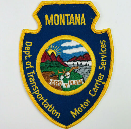 Montana DOT Motor Carrier Services Patch