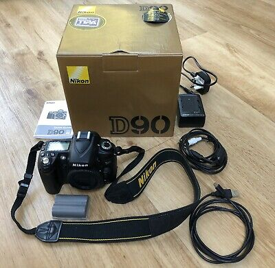 Nikon D D90 12.3MP Digital SLR Camera - Black, Body Only