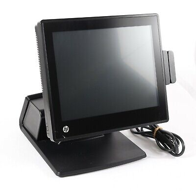 Hp Rp7 7800 Retail Pos System 15 Touchscreen Celeron G540 2.5ghz 4gb Ram No Hdd