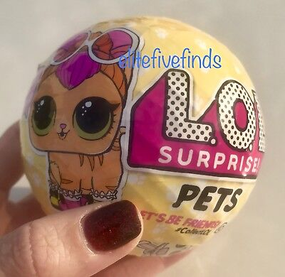 Series 3 Lol Surprise Doll Pets 7 Layers Of Fun Animal Ball