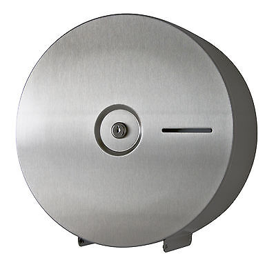 Toilettenpapierspender,Toilettenpapierhalter Edelstahl matt für Jumborollen