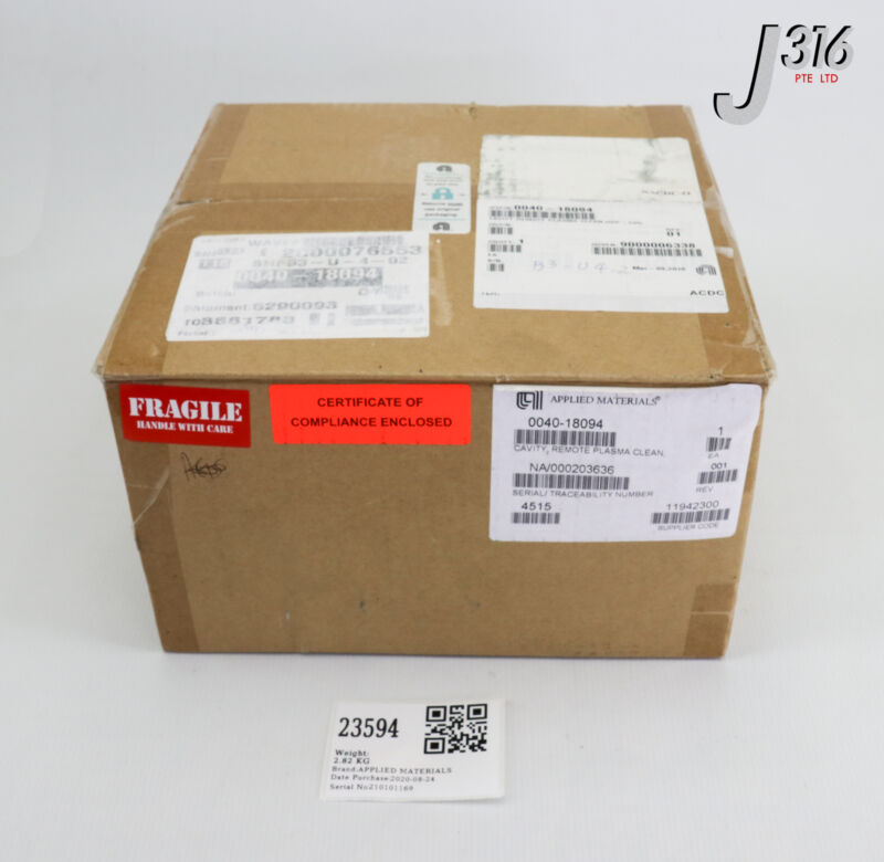 23594 Applied Materials Cavity, Remote Plasma Clean, Hdp-cvd (new) 0040-18094