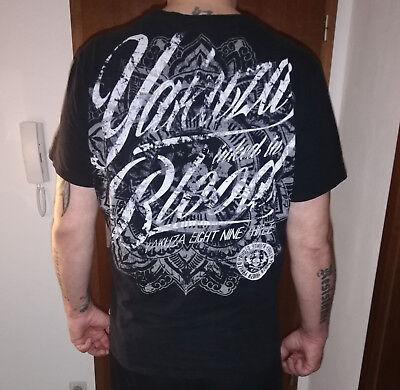 ♠ YAKUZA Inked in Blood T-Shirt in 3XL gebraucht schwarz ♠ gebraucht kaufen  Herne