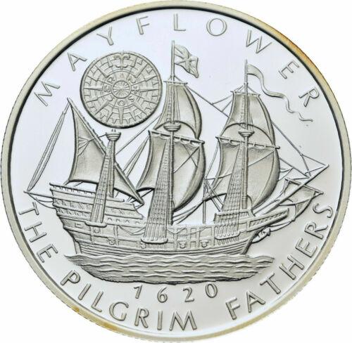 2002 Somalia Silver Proof 250 shillings-Mayflower Ship