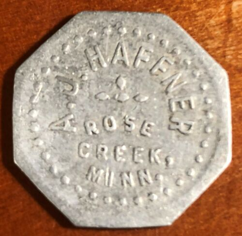 Rose Creek Minnesota Trade Token
