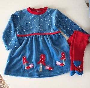 Holiday girl dress 12-18 month