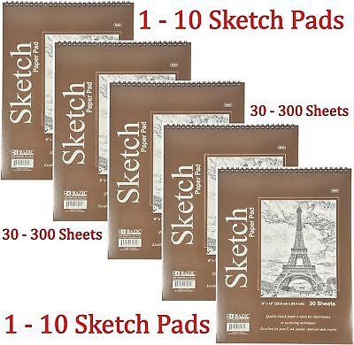 Spiral Sketch Pad Book 9