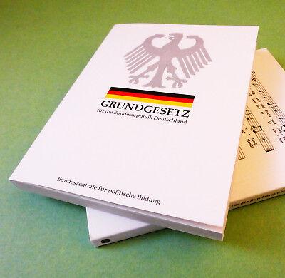 Neuste Fassung deutsches Grundgesetz unbenutzt Taschenbuch GG Buch gültig 2019 :