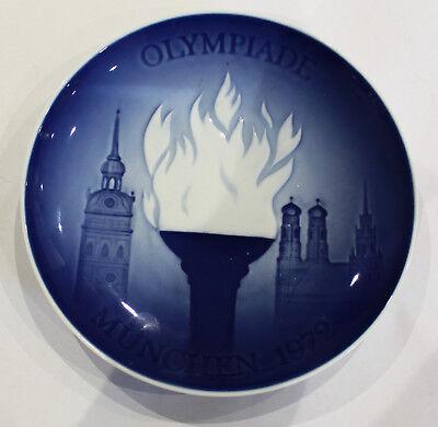 VINTAGE ROYAL COPENHAGEN  MUNCHEN 1972 OLYMPICS PLATE