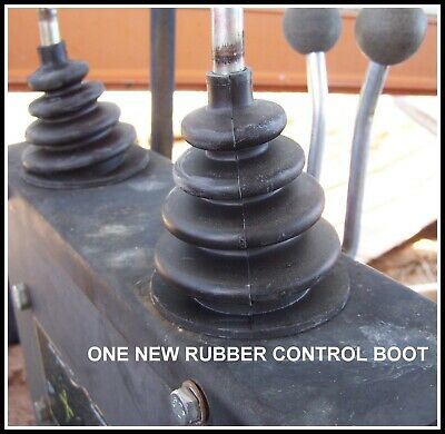 Universal Rubber Control Handle Boot For Tractor Backhoe Farm Implements Cover