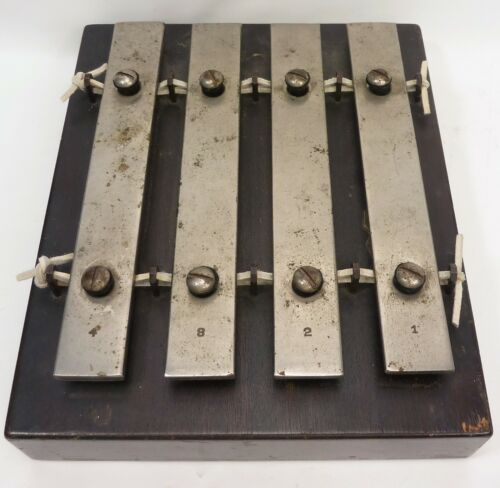 Antique J. C. Deagan 4-Note Xylophone - Dinner Plate Chime  #20
