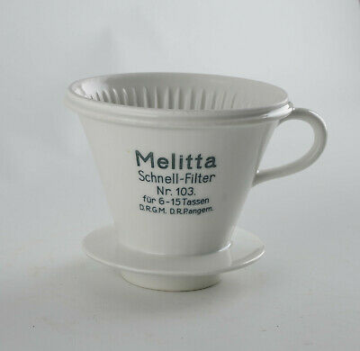 Melitta Kaffeefilter, Nr. 103. Porzellan, Vintage online kaufen