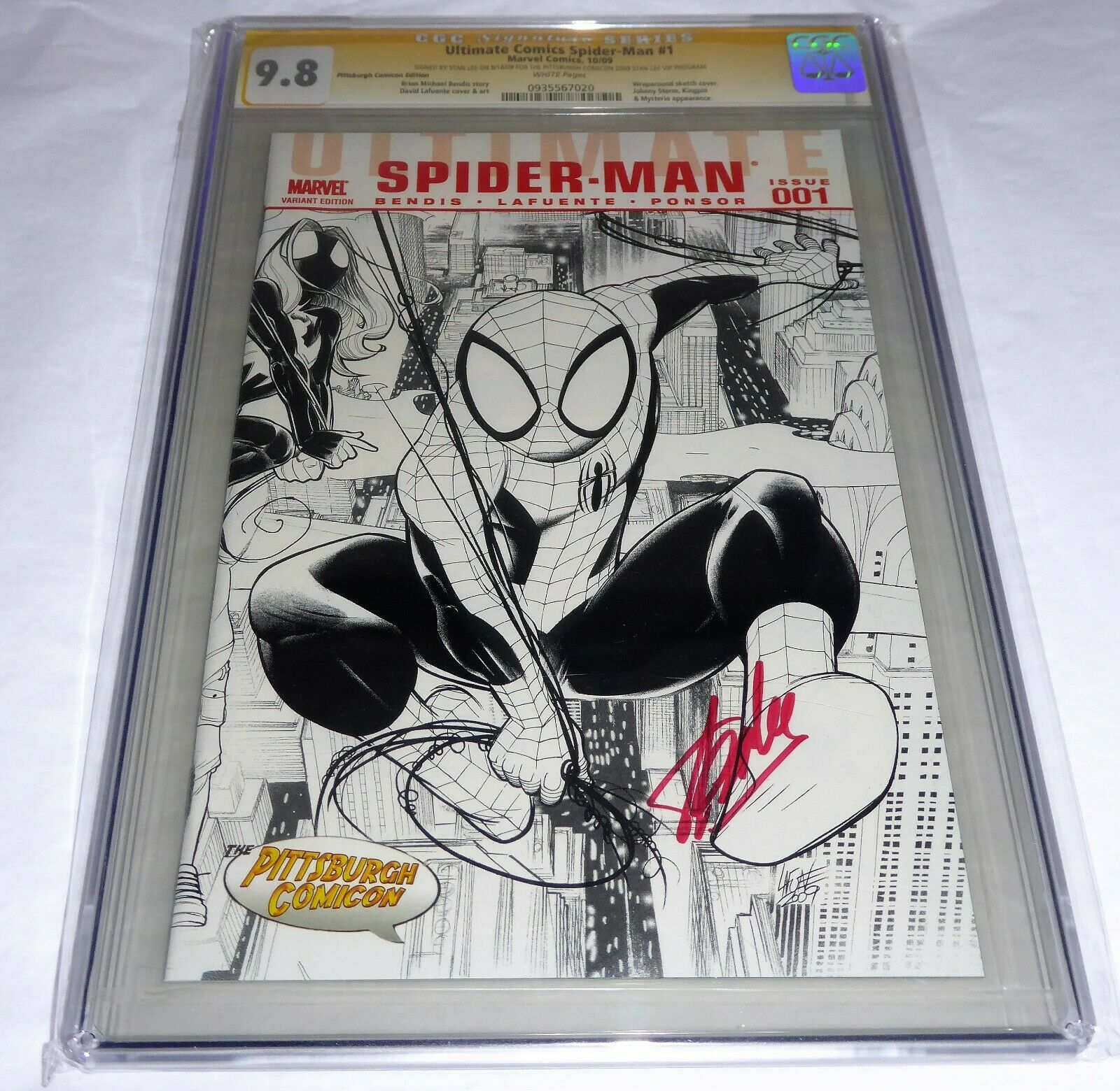 Ultimate Comics Spider-Man #1 CGC SS 9.8 Signature Autograph STAN LEE Vip Comic