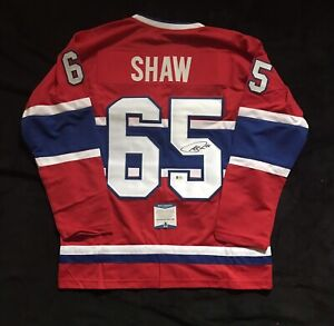 Andrew Shaw Signed Montreal Canadiens jersey