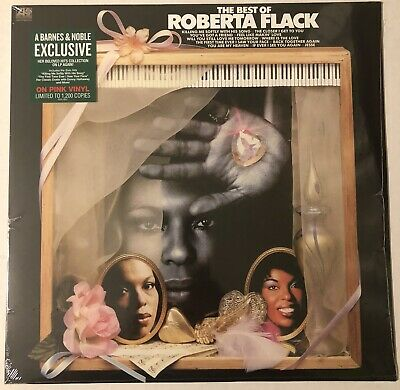 ROBERTA FLACK THE BEST OF ROBERTA FLACK LP PINK VINYL RECORD LIMITED (Roberta Flack The Best Of Roberta Flack)
