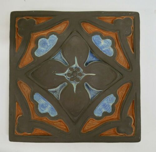 Large Batchelder Rosette Tile