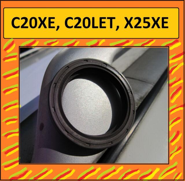 C20XE, C20LET, X25XE, Opel Calibra Wellendichtring Ölpumpe an Kurbelwelle