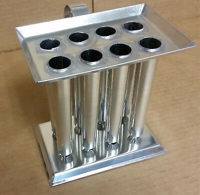 8 TUBE TAPER Metal Candle Mold (6 inch Tapers)