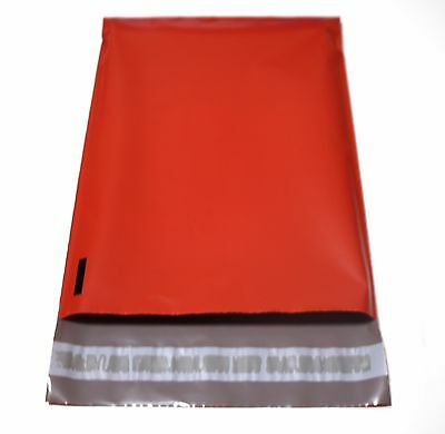 20 Red Color 7.5x10.5 Poly Mailers Shipping Supplies