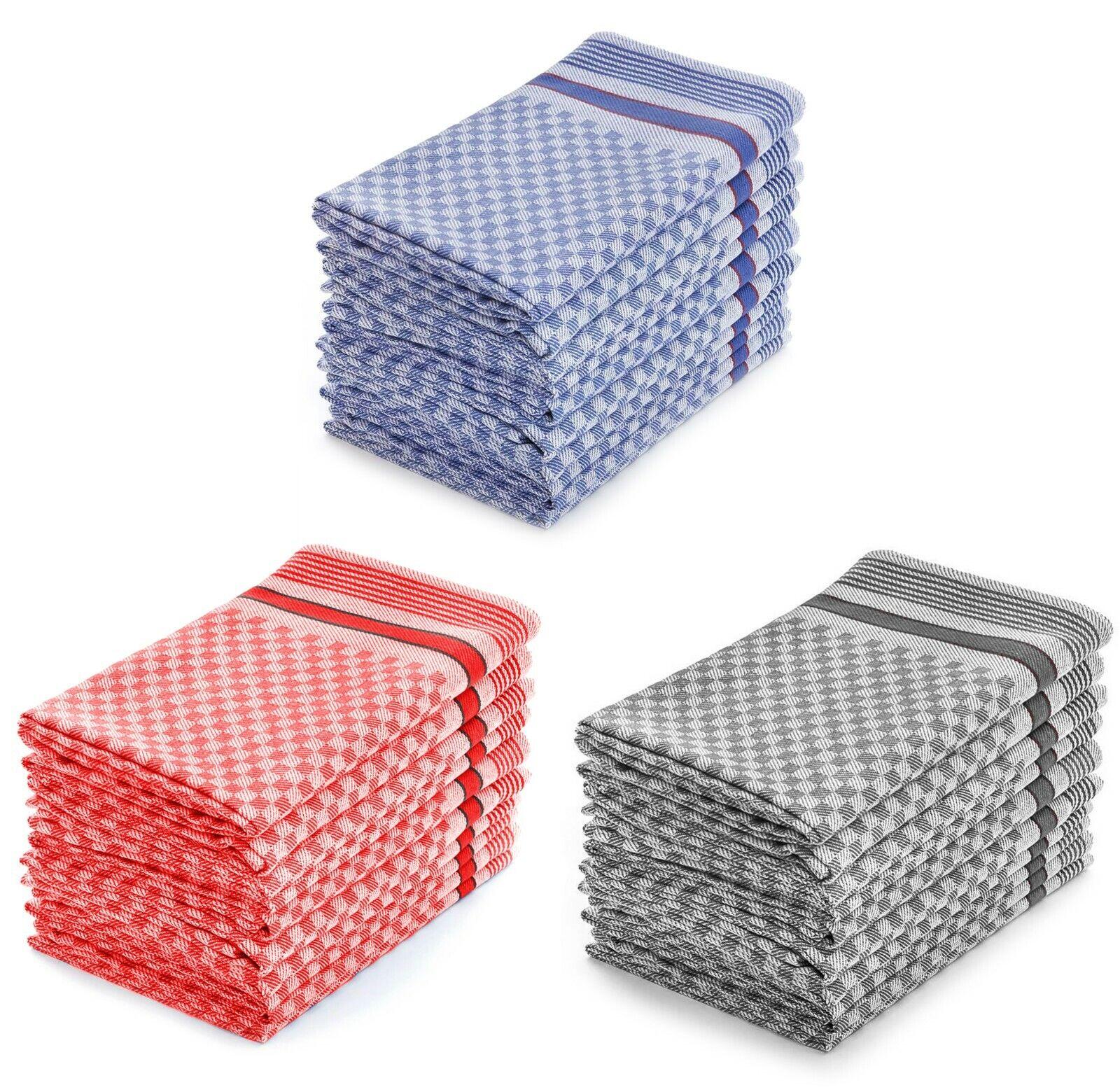 Set Grubentücher im 10er od. 5er Pack,100% Baumw., verschiedene Varianten