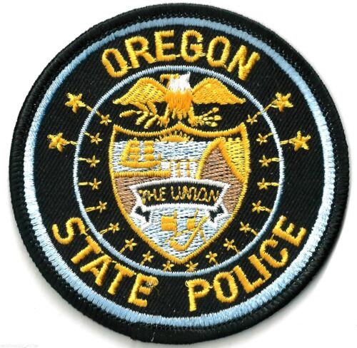 OREGON STATE POLICE - SHOULDER PATCH - IRON OR SEW-ON PATCH