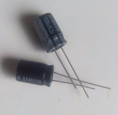 Lot de 3 condensateurs chimique 1500µF 1500MF 1500uF 25V radial 105°