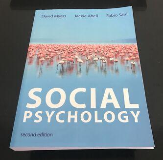 Psychology textbook in perth region wa gumtree australia free social psychology myers abel and sani ecu textbook fandeluxe Choice Image