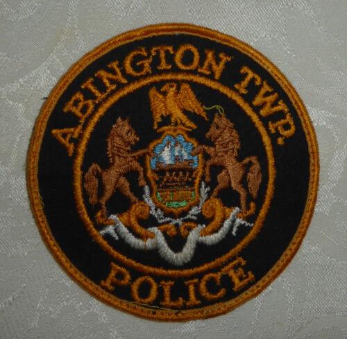 Abington Twp. Police Patch