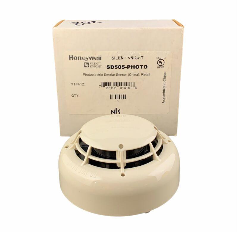 🌟Honeywell Silent Knight SD505-PHOTO Addressable Photoelectric Smoke Detector
