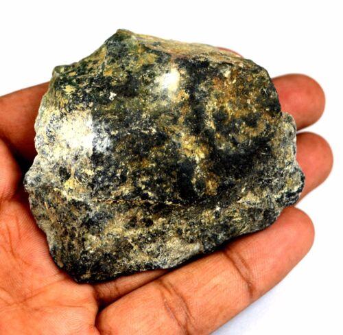 US Seller Afghani Green Serpentine Gemstone Rough 505 Ct Natural Untreated