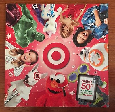 TARGET 2015 Christmas Holiday Toy Idea Catalog-Electronics/Dolls/Clothes/Video