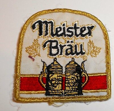 Meister Brau Beer Patch Embroidered Patch Ale  inches