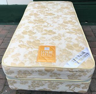 Almost new single bed set for sale. Delivery available