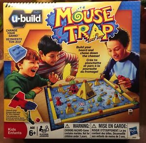 Mouse Trap game, age 6+, verified complete.