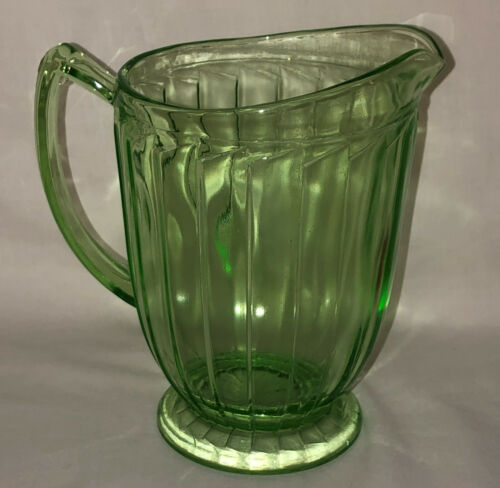 "Jeannette SIERRA/PINWHEEL GREEN *6 1/2"" - 32 OZ PITCHER*"