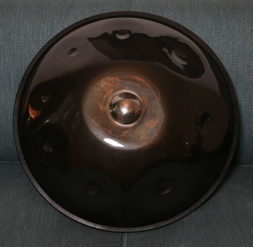 Daves Island Instruments - F Jibook Luna Clarity Handpan Pantam Drum With a Case