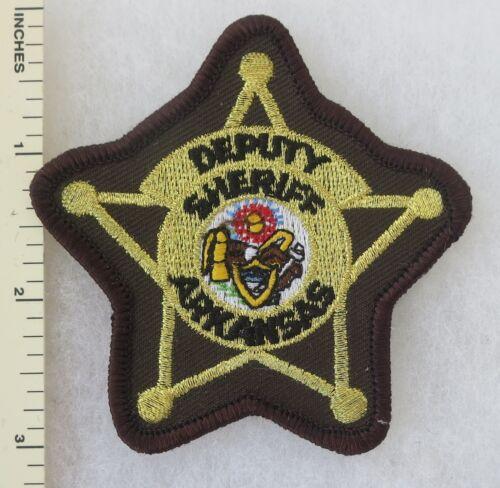 ARKANSAS DEPUTY SHERIFF PATCH Vintage ORIGINAL
