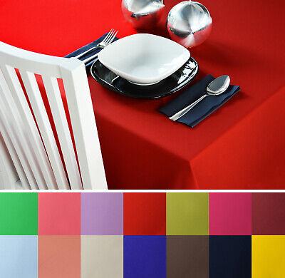ecke Tischtücher Tischtuch in 26 Farben Alle Größen  (Tischdecke Farben)