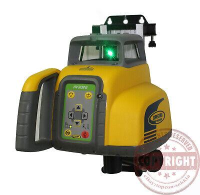Spectra Precision Hv302g Green Beam Self Leveling Rotary Laser Leveltopcon