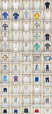 Newborn 1 month Baby Boy Unisex Clothes Build a Bundle Large/ Huge Multi Listing