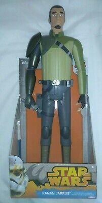 Large Star Wars Rebels Jedi Kanan Jarrus Action Figure Toy Doll New Box Disney