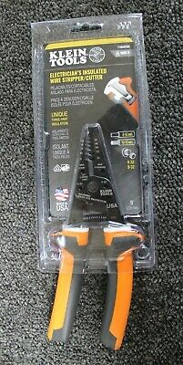Kleins Tools 11054eins 1000v Electricians Insulated Wire Strippercutter New