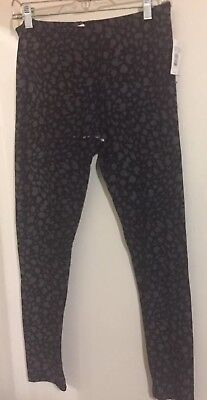 Women Legging  Cheetah Print By Pink Rose  Size XL (Cheetah Rose)
