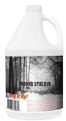 Fog It Up! Gallon of Low Lying Fog Fluid, Ground Stalker Fog Juice  Fog Chiller