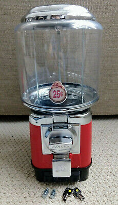 1 Beaver Red Rb16 Gumball Candy Toy Nut Vending Machine Cash Drawer 2 Years-old