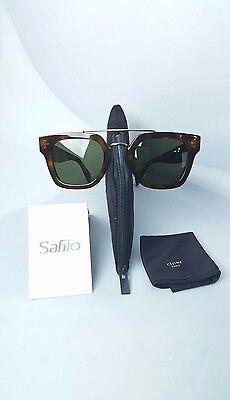Celine SUNGLASSES  CL41077S 05L1E Havana/Gold 47-25/150mm  Square Sunglasses